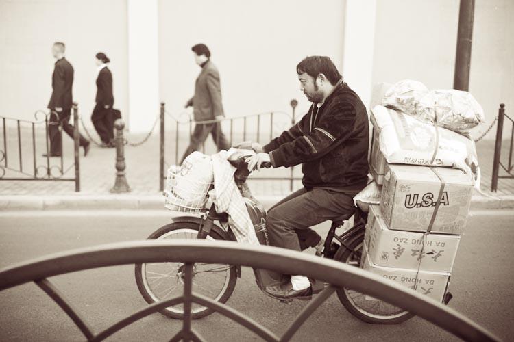 chinese biker
