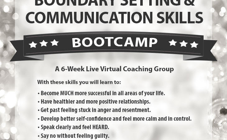 Boundary Setting Bootcamp