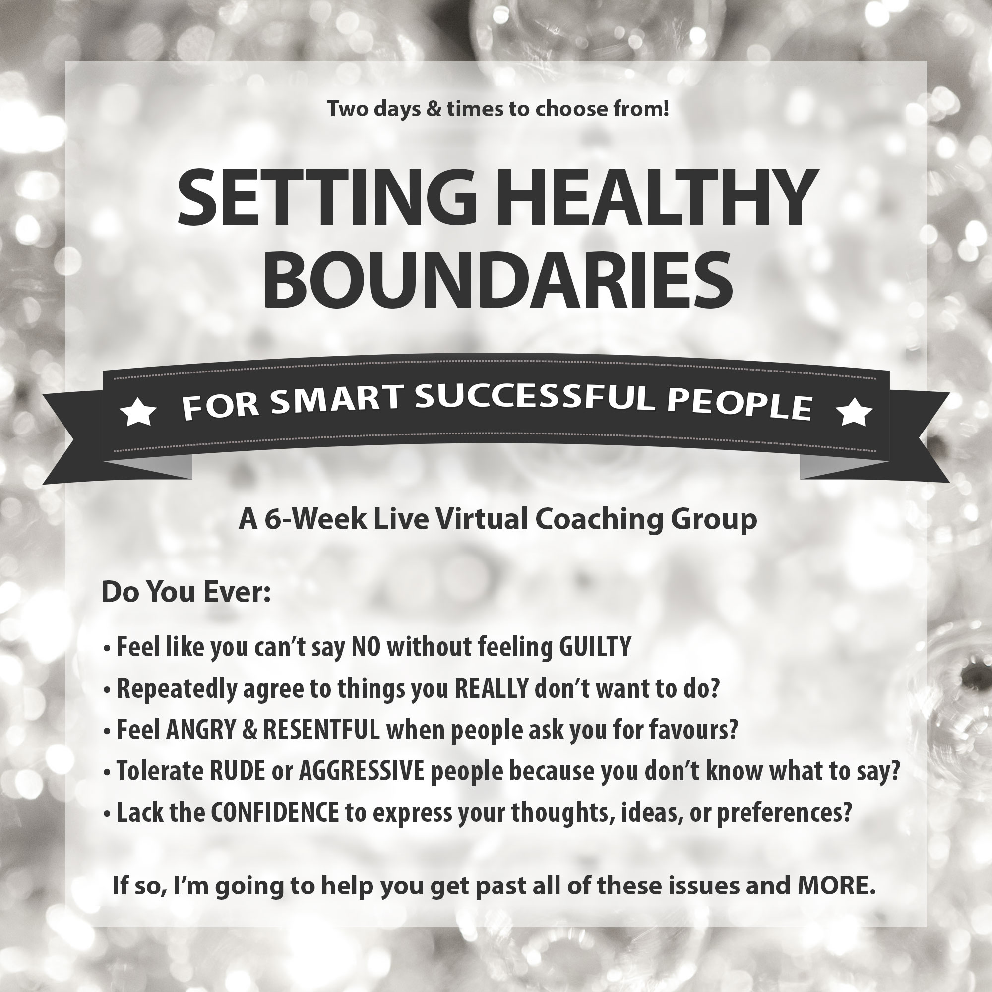 Setting healthy boundaries in marriage