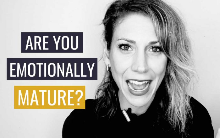 How Emotionally Mature Are You?