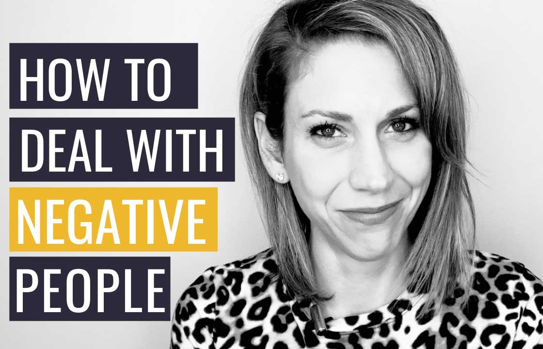 How Emotionally Intelligent People Deal With Negative People