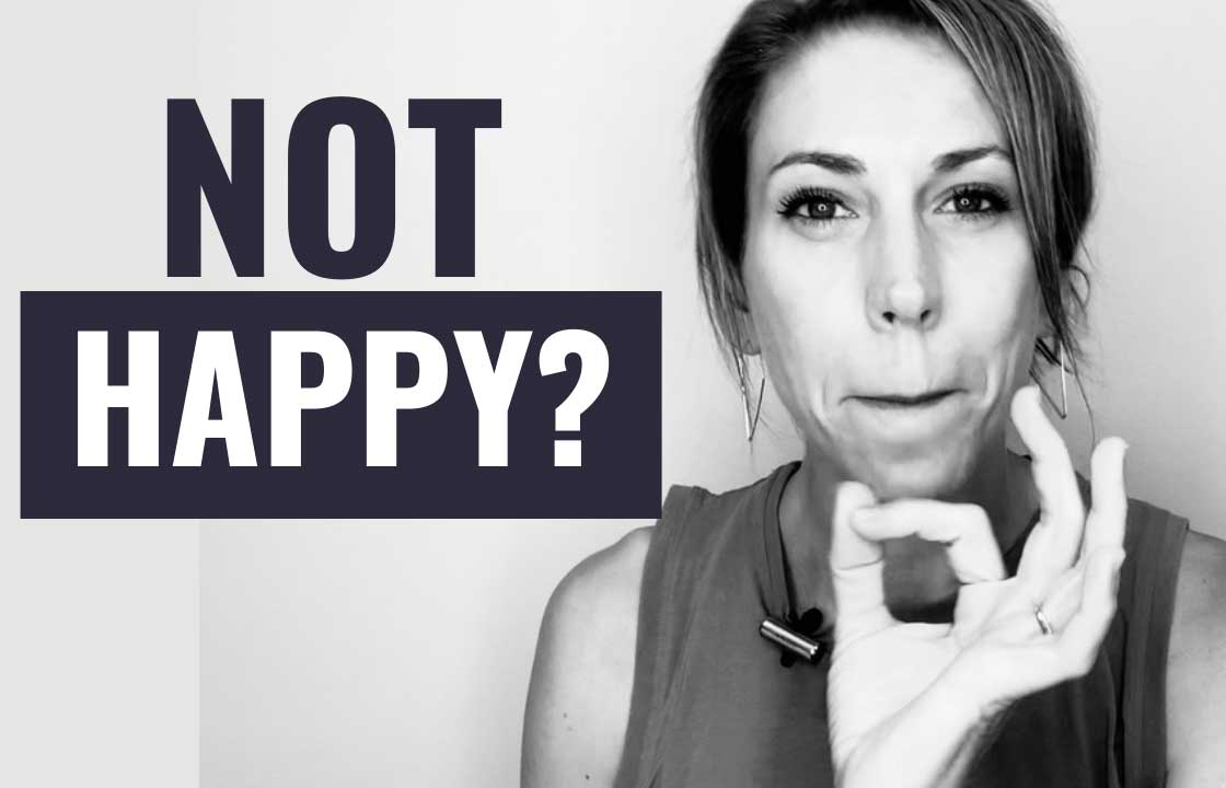 6 Reasons You're Not As Happy As You Could Be